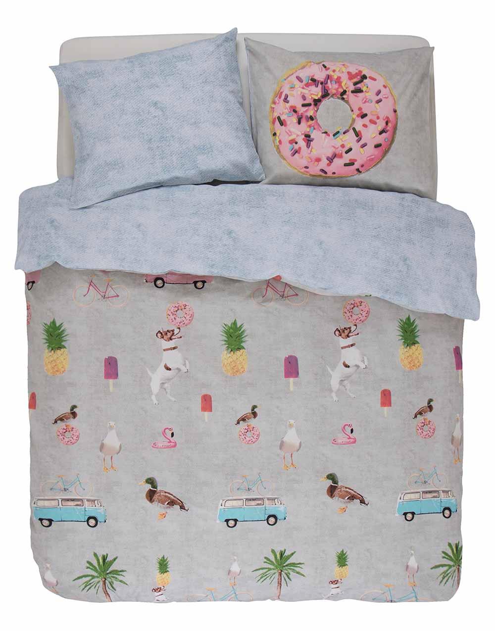 covers sengetøj med donuts ´Beach´