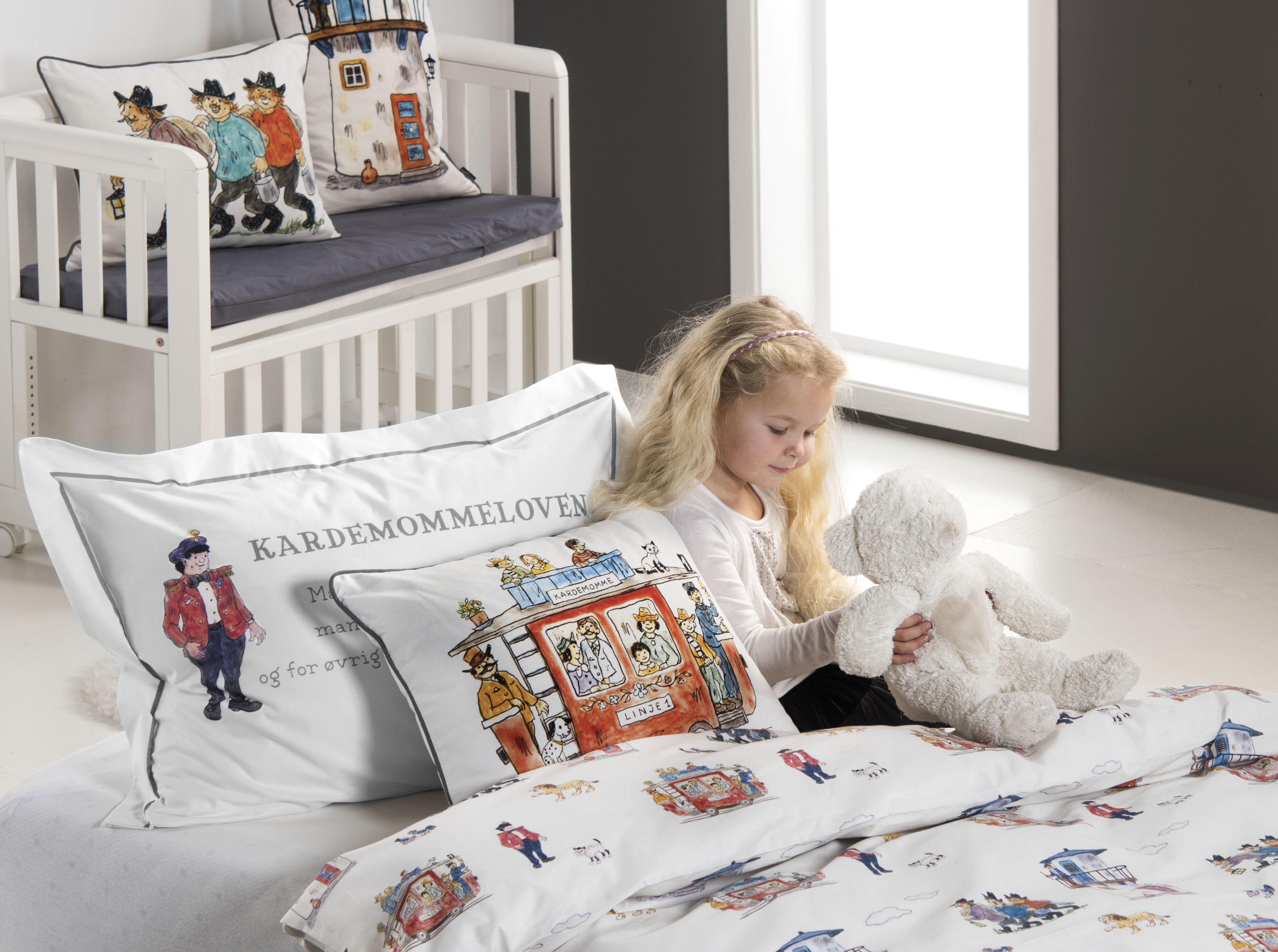 turiform baby sengetøj - Hakkebakkeskoven