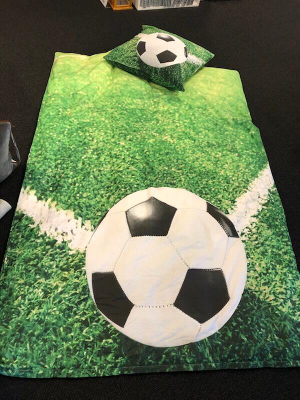 soccer/fodbold sengetøj