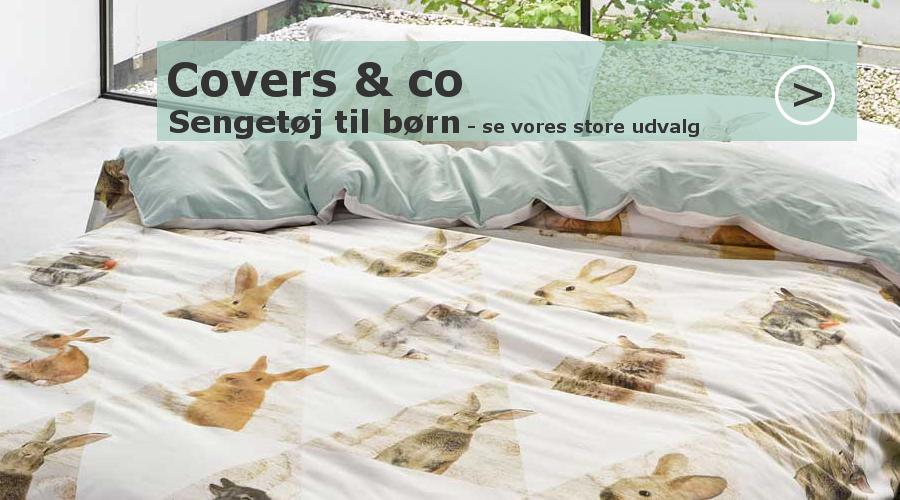 covers & co. Sejt og sødt sengetøj til børn og unge