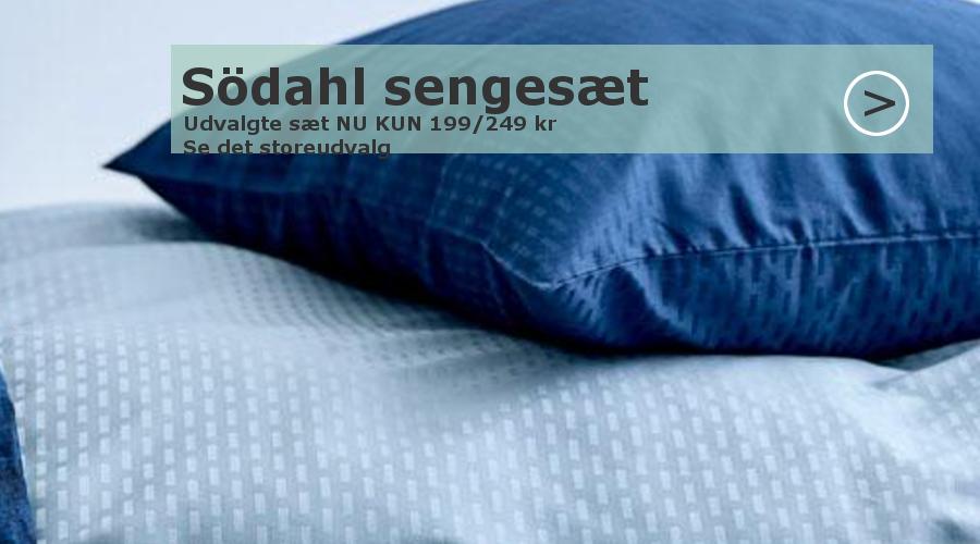 Udsalg Södahl sengetøj kun 199 kr