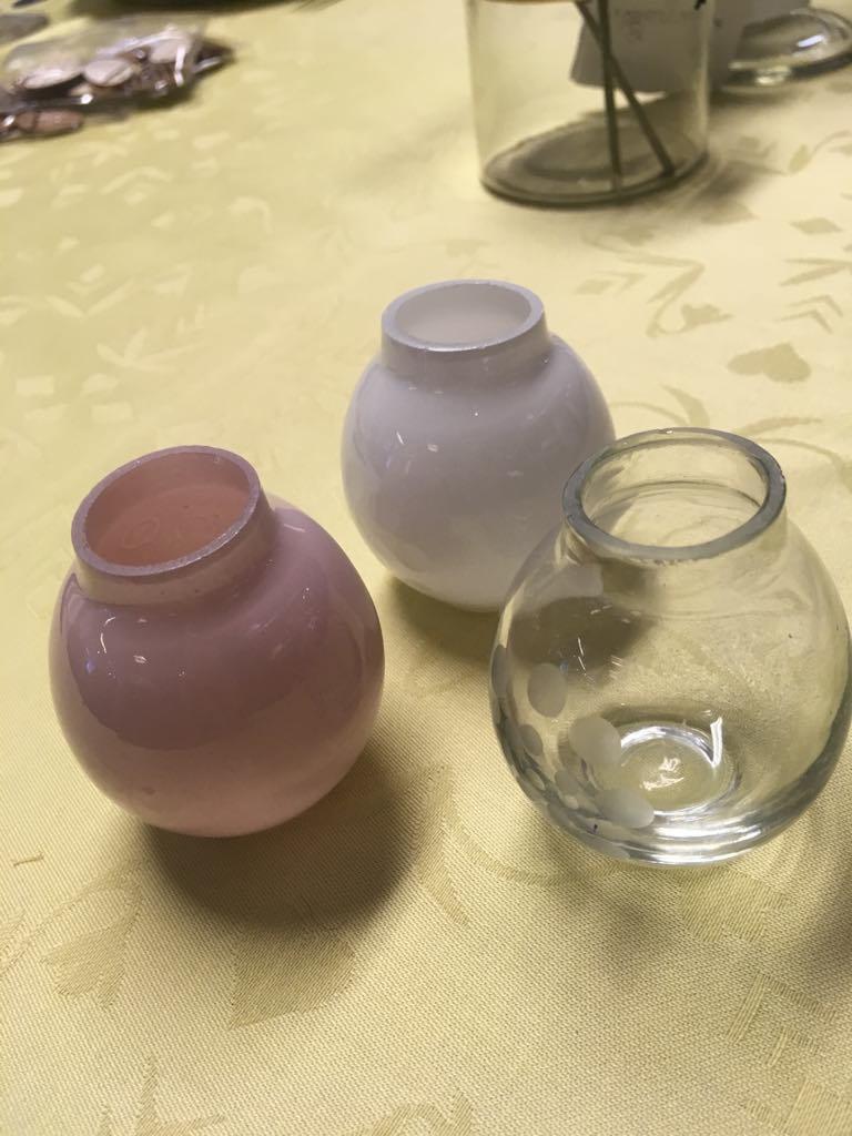 madleys små vaser til bordpynt