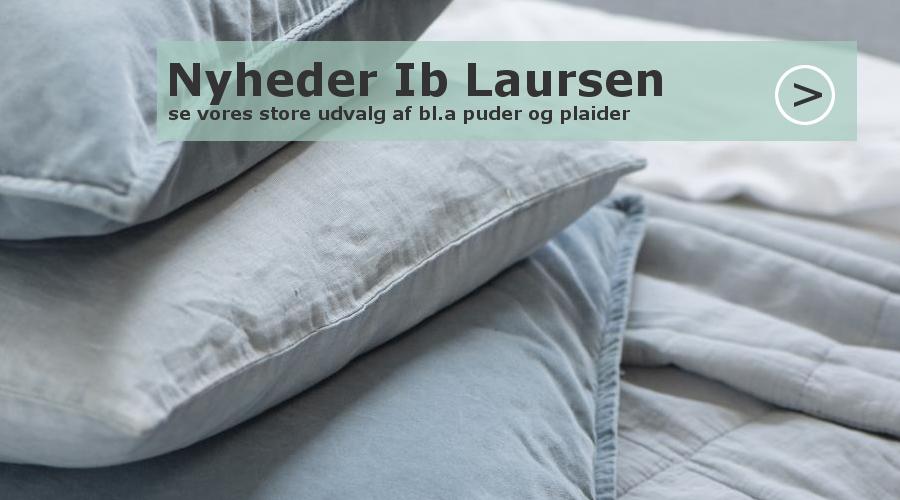 Ib Laursen quilt og puder