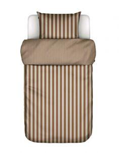 Marc O´Polo ´Classic stripe´ sengetøj 140x220 cm - Toffee brown