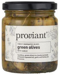 Ib Laursen ´proviant´ oliven - Grønne m/hvidløg