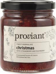Proviant marmelade Jul - Jordbær/hindbær