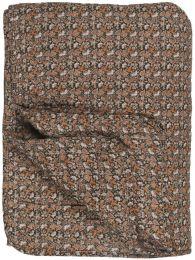 Ib Laursen quiltet tæppe - Sort m/minimønster