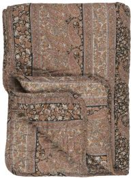 Ib Laursen quiltet tæppe - Multifarvet paisley