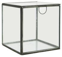 Ib Laursen glasæske m/låg - Kvadratisk