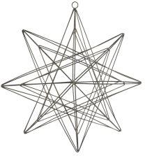 Ib Laursen stjerne t/ophæng wire tredimensionel