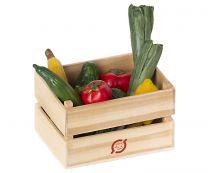 Maileg grøntsager og frugt