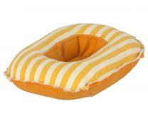 Maileg gummibåd m/gule striber - Til mus