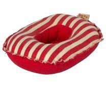 Maileg gummibåd m/røde striber - Til mus