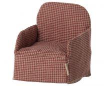 Maileg stol rød - mus