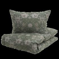 Boräs Cotton ´Nova´ sengetøj 140x200 cm - Grøn AW2021