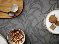 Södahl ´Breeze´ damaskdug rund Ø 160 cm - Grå