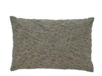 Södahl ´Diagonal´ pyntepude 40x60 cm - Khaki