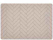 Södahl ´Tiles´ silikone dækkeserviet 33x48 cm - Beige