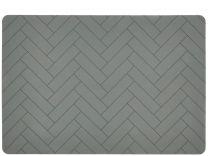 Södahl ´Tiles´ silikone dækkeserviet 33x48 cm - Forest green