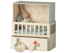 Maileg babyroom/spilledåse - Rabbit/Lyseblå