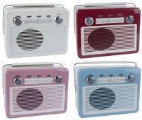 Ib Laursen retro radio dåse - 1 stk/2. sortering