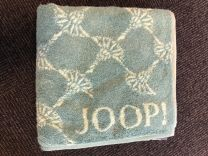 Joop ´Classic cornflower´ doublfaced håndklæde  50x100 cm - Turkis