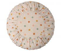 Maileg rund pude - Multi dots/large D 40 cm