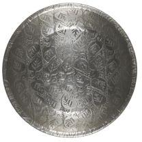 Ib Laursen bakke m/bladmønster - Antik sølvfinish