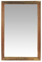 Ib Laursen spejl i træramme - UNIKA