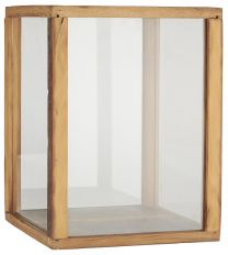 Ib Laursen displaykasse m/4 glassider UNIKA - H40 cm
