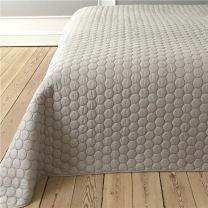 Pönt by pagunette ´Pantomime´ sengetæppe 260x260 - Sand