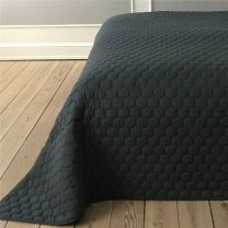 Pönt by pagunette ´Pantomime´ sengetæppe 260x260 - Støvet grøn