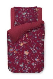 PIP Studio ´Flower Festival´ sengesæt 140x200 cm - Rød