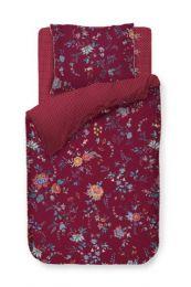 PIP Studio ´Flower Festival´ sengesæt 140x220 cm - Rød