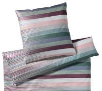 Elegante ´Change´ sengetøj 135x200 - Mint/Lilla nuancer