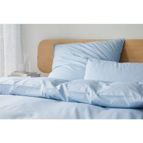 Elegante ´Refresh society´ sengetøj 135x200 cm - Lyseblå