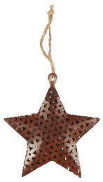 Ib Laursen juletræspynt stjerne/metal