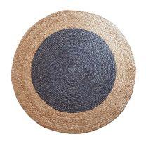 Pagunette ´Doty´ rund tæppe D 100 cm - Blå