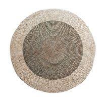 Pagunette ´Doty´ rund tæppe D 100 cm - Khaki