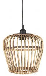 Ib Laursen Hængelampe bambusskærm - Lille