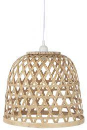 Ib Laursen hængelampe m/bambusskærm