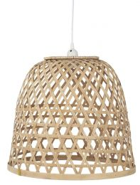Ib Laursen hængelampe m/bambusskærm H37,5 cm