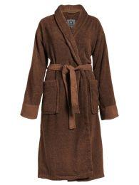 Essenza Connect Organic Uni badekåbe str M - Leather Brown