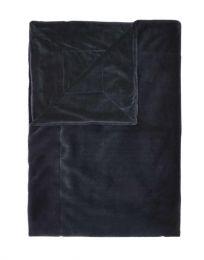 Essenza ´Furry´ plaid 150x200 cm - Nightblue