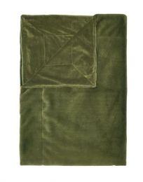 Essenza ´Furry´ plaid 150x200 cm - Moss
