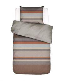 Essenza ´Kim´ flonel sengetøj 140x220 cm - Brun