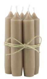 Ib Laursen bedelys 1 stk - Milky brown/lys brun
