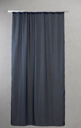 Compliments ´Lines´ bruseforhæng 140x200 cm - Deep Blue/mørkeblå