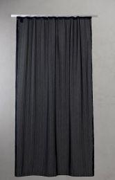 Compliments ´Lines´ bruseforhæng 140x200 cm - Sort