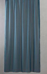 Compliments ´Lines´ bruseforhæng m/kouser 140x200 cm - Sea Blue/lyseblå